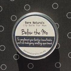 Bare Naturals Lip Balm- Below The Mo