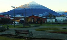 Plaza Hornopirén, Chile