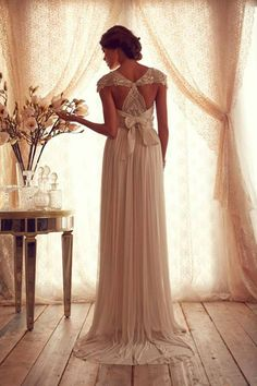LIZ, check these out! Soooo pretty. Stunning Wedding Dresses by Anna Campbell 2013
