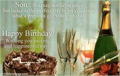 Happy birthday son - Google Search