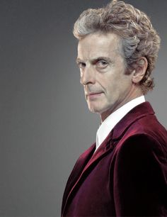 Doctor Who and Peter Capaldi.