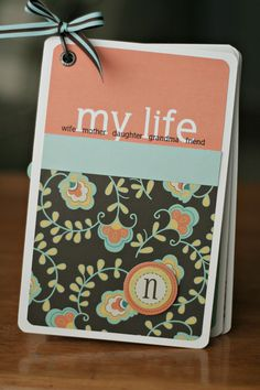 simple as that: Mother's Day Mini Album