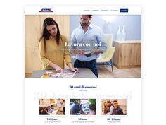 Bofrost Recruiting Page by Stefano Fois