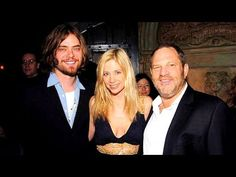 Mira Sorvino, seen here with Weinstein and her husband Chris Backus, has also accused the movie mogul of harassment Cheaters And Liars, Annabella Sciorra, Mira Sorvino, Asia Argento, Daryl Hannah, Harvey Weinstein, Oscar Winners, Gwyneth Paltrow, Accusations