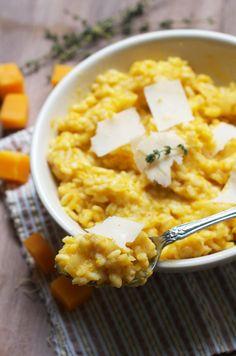 Butternut Parmesan Rissoto