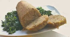 polpettone di pane e lenticchie