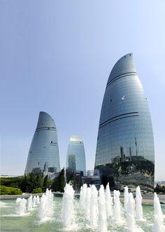 Bakou Flame Towers 1200x1697 MIPIM 2013 : Découvrez les 10 meilleurs bâtiments de lannée
