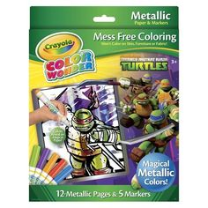 Crayola Color Wonder Metallic Box-Teenage Mutant Ninja Turtles - $9.99 @ Target (4 EJ)
