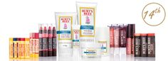 Burt's Bees - 1 winner will receive... a whole bundle of natural skincare products for head to toe, from Burt's Bees, worth £225!