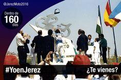 Ángel Nieto inaugura su curva en el Circuito de Jerez. Dentro de 160 días #YoenJerez.