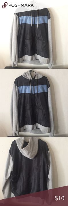 Cozy Jacket size XL Men's cozy jacket size XL with warm fabric inside. Has hood and outside pockets. Some seems lifting in the back but can easily be sewn down. Price reflects that brand for exposure. Jordan Jackets & Coats