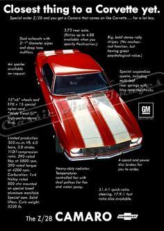 Classic and Concept Car Prints and Posters Blog: ALL NEW! Classic and Muscle Car Vintage Ads