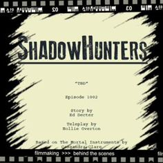 #Shadowhunters #TheMortalInstruments #TMI #Movie  Сегодня начинаются съемки второго эпизода