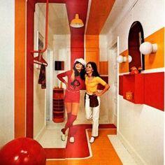 Surprising 70s Retro Interior Design Pictures Ideas
