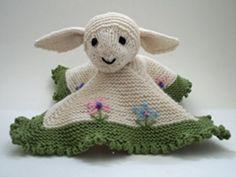 Lamb Blanket Buddy Knitting Pattern and more lamb and sheep knitting patterns