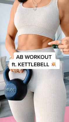 Fitness Workouts, Gym Workout Videos, Gym Workout For Beginners, Fitness Workout For Women, Butt Workout, Fitness Goals, At Home Workouts, Yoga Poses For Beginners, Kettlebell Arm Workout