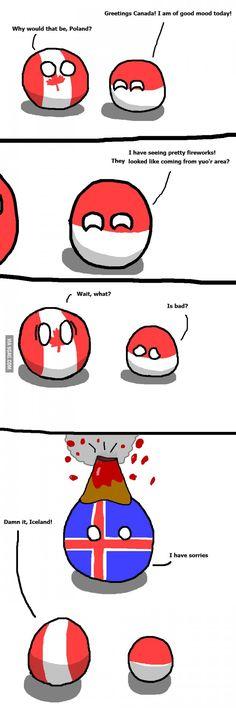 North Koreas Little Problem   Polandballs Countryballs ...