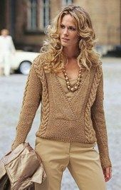 luxor pullover...free pattern
