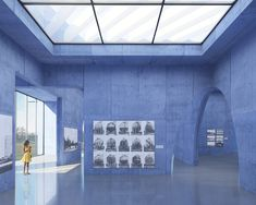Image 7 of 9 from gallery of Competition Entry Proposes Colorful Duo of Museums for Budapest. Photograph by IaN+