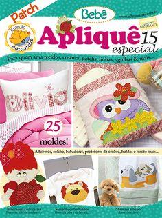 Artesanato - Apliquê - Patchwork : COL AMANDA APLIQUE ESP 015 - Editora Minuano