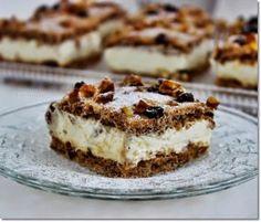 No Salt Recipes, My Recipes, Cookie Recipes, Dessert Recipes, Hungarian Desserts, Hungarian Recipes, Hungarian Food, Sweet Desserts, Vegan Desserts