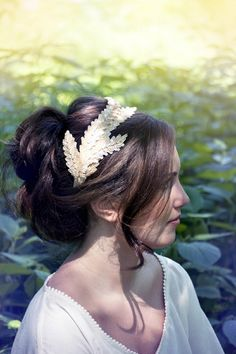 Bohemian lace hair u