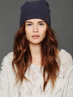 I've been searching for the perfect beanie this season, this is it! Free People Slouchy Beanie