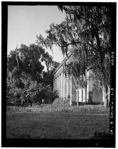 5.  Historic American Buildings Survey Richard Koch, Photographer October, 1936 SOUTHWEST ELEVATION - Ashland Belle Helene Plantation, Highway 75, Geismar, Ascension Parish, LA