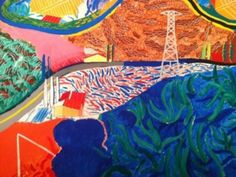 David Hockney - another one I have in my dining area~