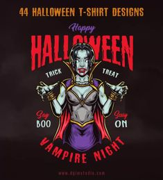 This awesome Halloween designs collection will be perfect for kids, Halloween clubs, t-shirts and other apparel producers, merchandise.
