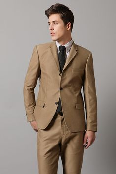 Logan would look amazing in this brown color.. but with a bow tie ;)
