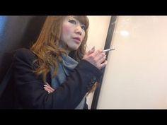 Charming Japanese girl smoking 88