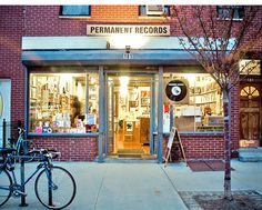 Record store, unknown city. Via the Permanent Record blog http://permanentrecordproject.blogspot.com