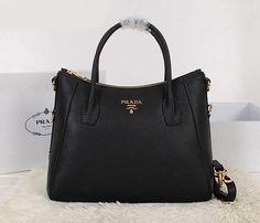97cf529b1014 Prada BR4992 Women Tote in Black Prada Tote Bag, Buy Cheap, Prada Handbags,