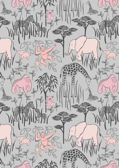 Lewis & Irene Welcome to the World Animal Parents with Babies Patchwork Quilting Dressmaking Fabric from MarilynsPatchwork on Etsy Studio Jungle Animals, Baby Animals, Chester Zoo, Dressmaking Fabric, Baby Fabric, Fabric Animals, Animal Quilts, Cotton Quilts, Cotton Fabric