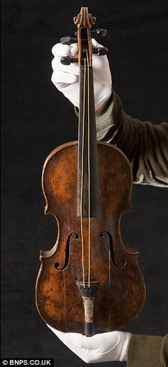 The Titanic Violin played by Wallace Hartley as the ship went down
