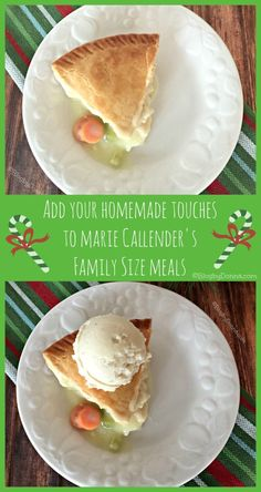 Add Your Homemade Touch to Marie Callender's Chicken Pot Pie #ad #homemadetouches