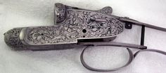 The Gun Art of Master Engraver Lee Griffiths | Field & Stream Custom gunmaker Andrew Macfarlane built a double rifle based on an unfinished Holland and Holland action. Griffiths engraved it with traditional Victorian scroll.