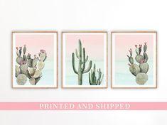 IF GIRL.... Cactus Nursery Decor Cactus Art Prints Nursery Wall Art   Etsy