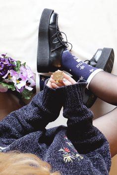 Estelle Heart - Noël à Poudlard - socks, creepers, Harry Potter, Fantastic Beasts and Where to Find Them, fond d'écran, Hogwarts, Les Animaux Fantastiques, Morgane Brret, Noël, Christmas, pin's, Poudlar, wallpaper, Dobby