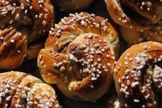 This is a recipe for Kanelsnurrer, a cinnamon Boller, or sweet bun. The base is a yeast dough, laced with butter,only slightly sweet, and has a hint of ...
