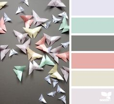 { color flutter } image via: @giant_origami