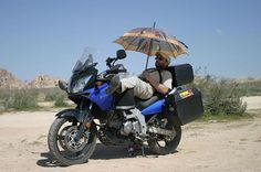 Looking for panniers online and I found this inspirational photo.