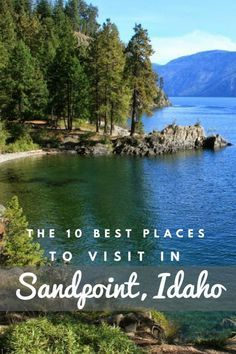 (via) Sandpoint Idaho is one of those special places you have to visit at least once in your life to see its true charm. If you've seen my post about the best places to visit in Idaho you'll see Sandpoint on the list. Cool Places To Visit, Places To Travel, Travel Destinations, Travel Stuff, Moving To Idaho, Sandpoint Idaho, Coeur D'alene Idaho, Vacation Spots, Vacation Ideas