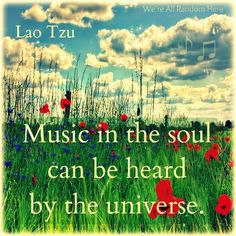 Music in the soul
