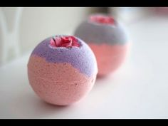DIY LUSH Bath Bomb - SEX BOMB + demo ! - YouTube