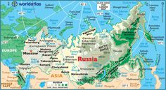 RUSSIA (Famous Natives, Fast Facts, Flags, Geo.Stats, GEO, Links, Maps, Symbols, Time, Timeline, Travel Info, Weather)