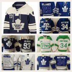Toronto Maple Leafs NHL Hockey Team Apparel Hoodies