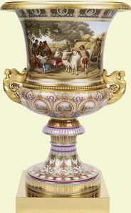 Vase    1845    Berlin, Royal Porcelain Manufactory    Presented to Queen Victoria