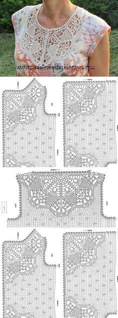 Crochet charts.